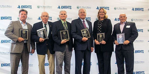 SMR Inducted Six New Members to Athletic Hall of Fame