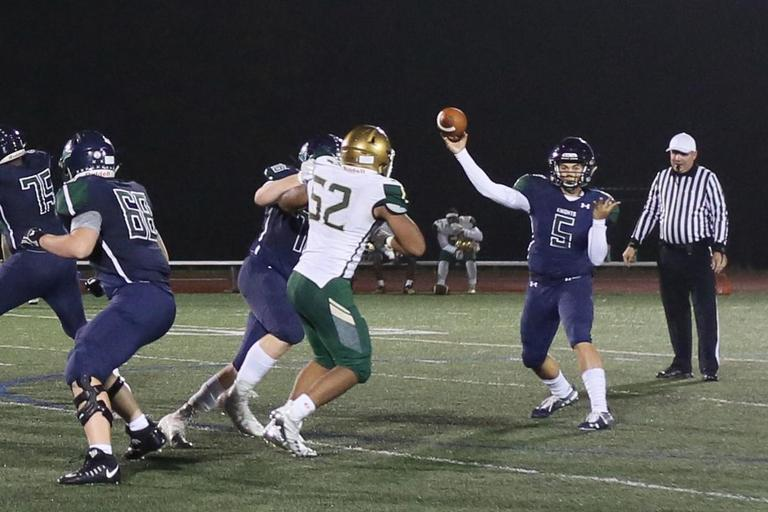 St. Mary's Ryken football shuts out Archbishop Carroll, heads to WCAC Metro Division final