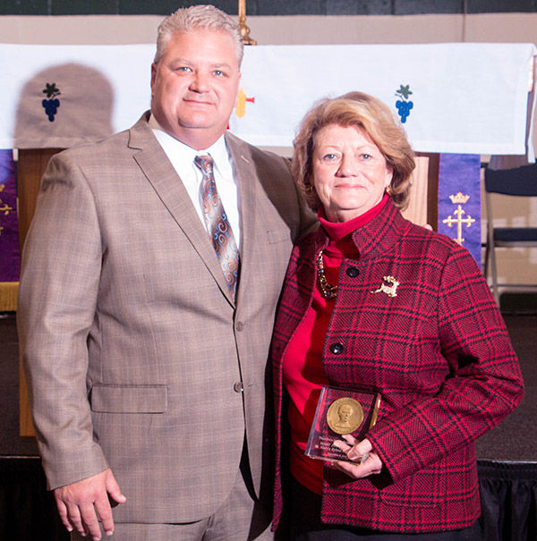 President Mary Joy Hurlburt Honored as Theodore Ryken Award Recipient