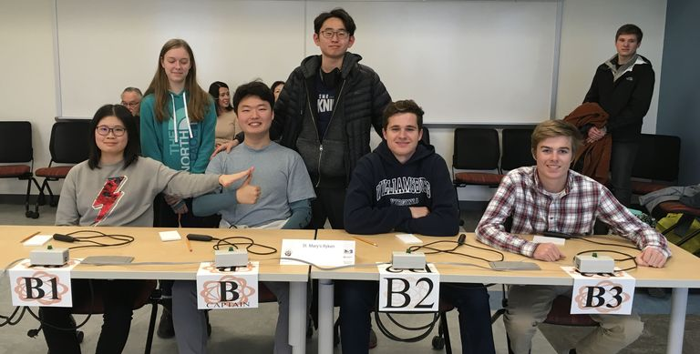 Science Bowl Team Competes in Regional Championship