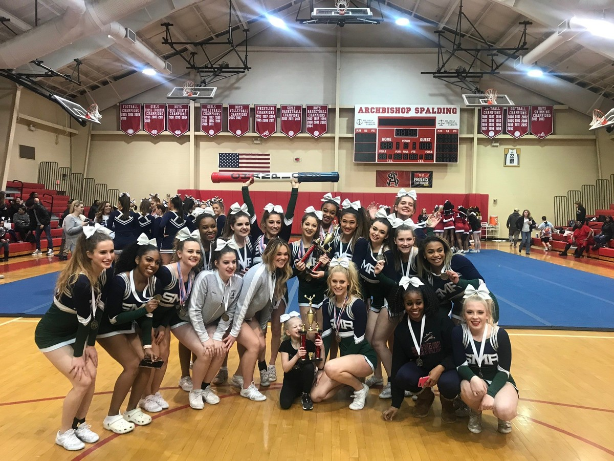 St. Mary's Ryken Cheer Team Sweeps Team Awards at Maryland Independent Schools meet