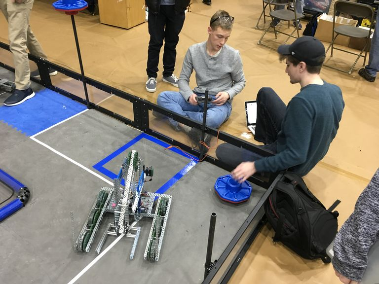 VEX Robotics Team Competes at Southern Maryland VEX League Championship
