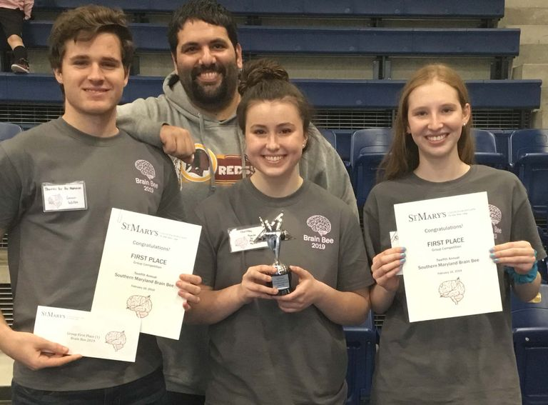 St. Mary's Ryken Students Sweep the Brain Bee