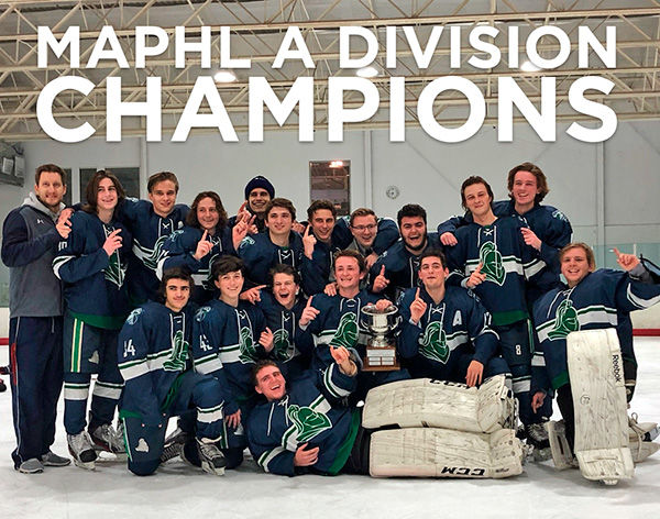"St. Mary's Ryken Ice Hockey | MAPHL ""A"" Division Champions!"