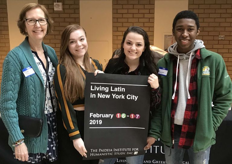 AP Latin Students Attend Largest Gathering of Latin Speakers in the World