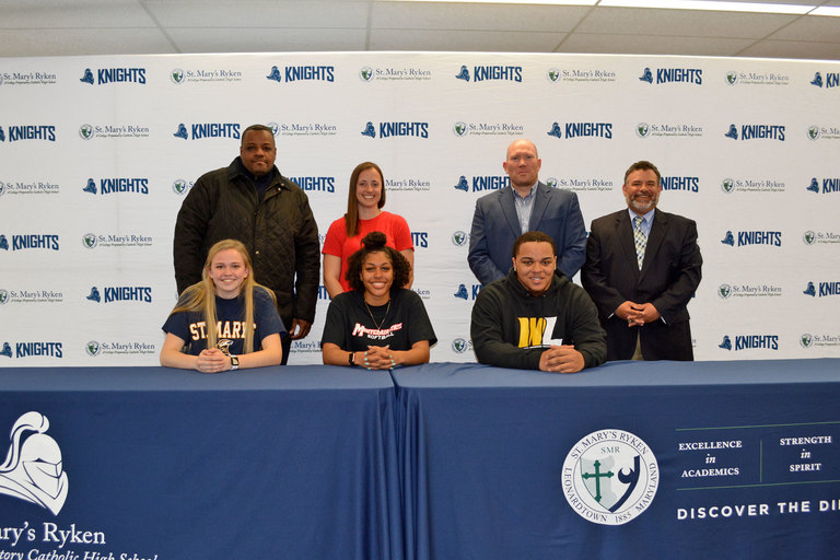 Volleyball, Softball and Football Student-Athletes Sign National Letters of Intent