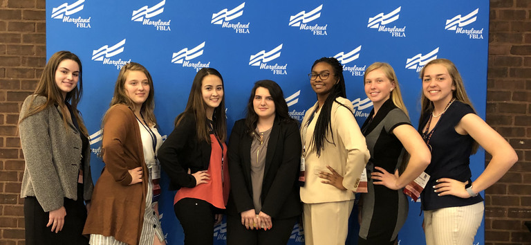 FBLA Students Placed 2nd at State Conference!