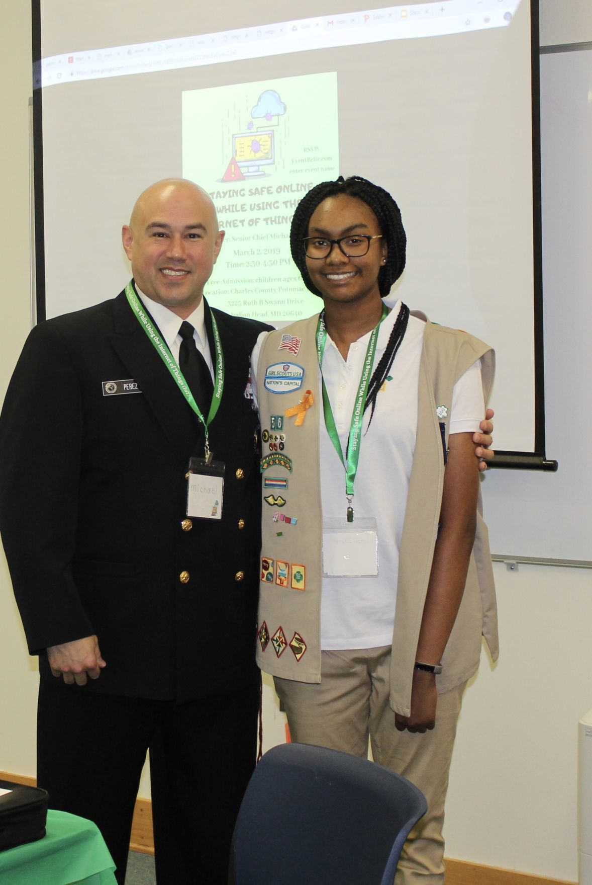 St. Mary's Ryken Senior and Girl Scout ambassador helps spread awareness of internet safety
