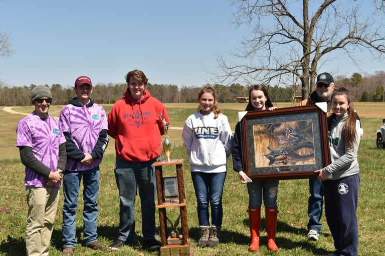 St. Mary's Ryken Envirothon Group Wins Local Competition